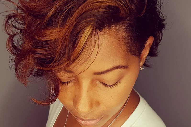Salon Naava LLC Hair Relaxing